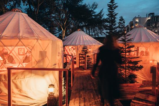 The Yurt Village at Canlis