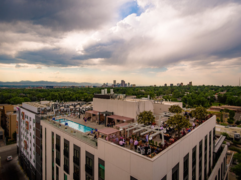 Elevated Rooftop Bar