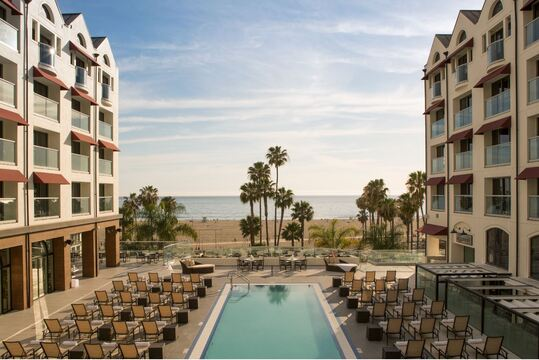 Blue Streak at Loews Santa Monica Beach Hotel