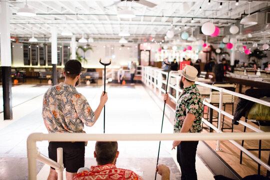 The Royal Palms Shuffleboard Club Brooklyn