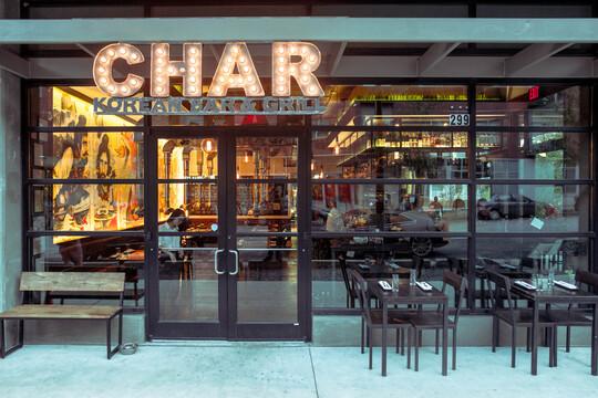 Char Korean Bar and Grill