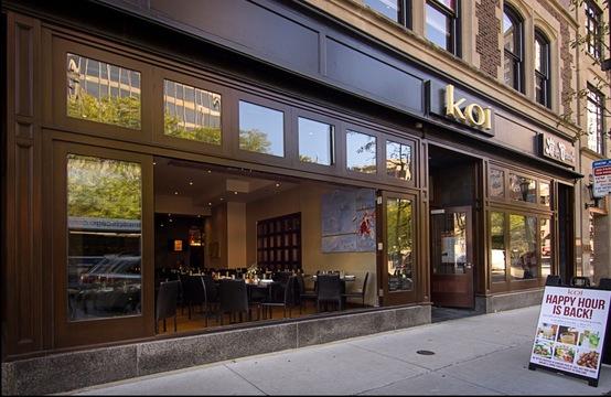 Koi Fine Asian Cuisine & Lounge