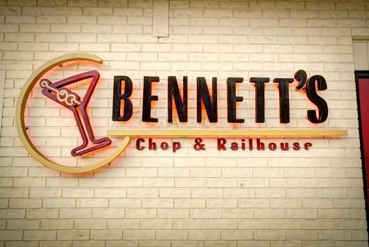 Bennett's Chop and Railhouse